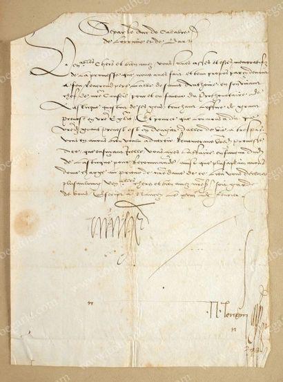 ANTOINE, duc de Lorraine (1489-155)