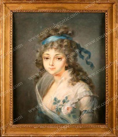 ÉCOLE DU XVIIIe SIÈCLE<br/>ATTRIBUÉ À JEAN-MARC NATTIER (1685-1766)
