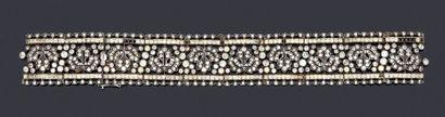 Bracelet articulé en argent 950 millièmes...