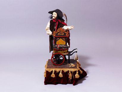 «Le joueur d'orgue de barbarie» Automate...