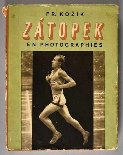 Livre. «Emil Zatopek» en photographie. Version...