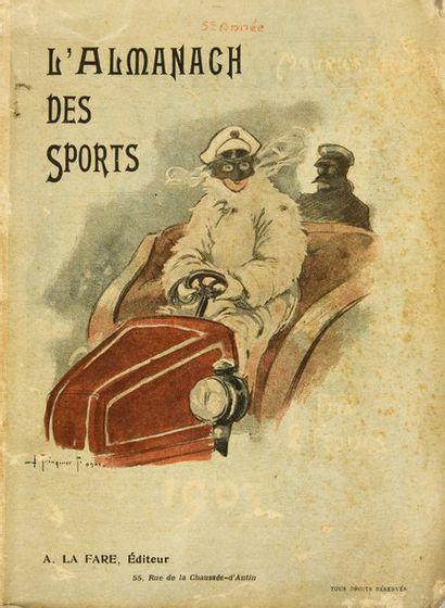 L'Almanach des Sports 1903 par Maurice Leudet....