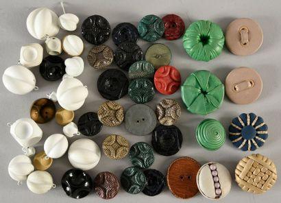 Original ensemble de boutons de la Maison...