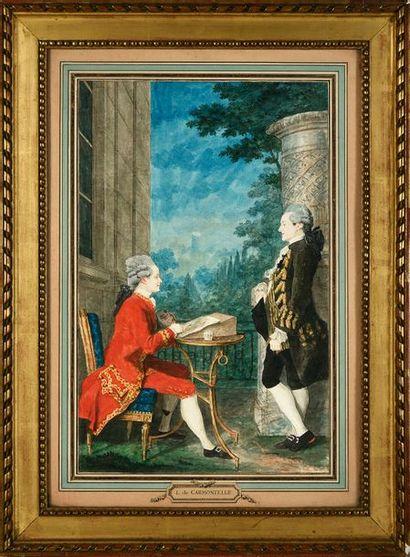 Louis de CARMONTELLE (Paris 1717-1806)