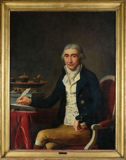 Ecole FRANCAISE vers 1790, entourage de François André VINCENT