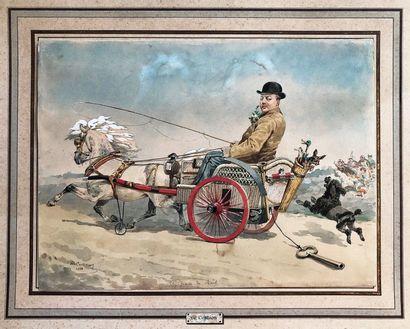 Charles Ferdinand de Condamy (1847-1913)