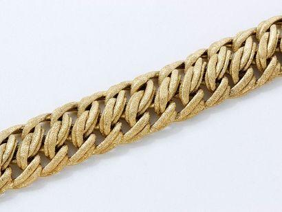 Bracelet articulé en or 750 millièmes amati,...