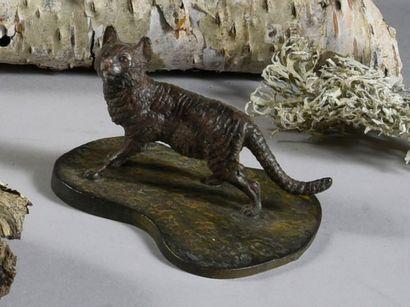 Le chat H. : 4,5 cm; L. : 7 cm