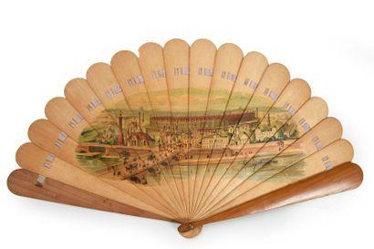 L'exposition universelle de 1867 Eventail...