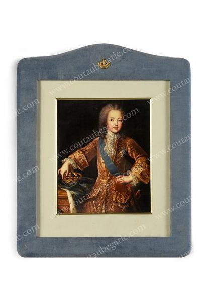 LOUIS XV, roi de France (1715-1774). Reproduction...