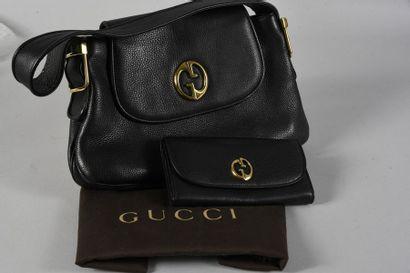 GUCCI, sac à main et portefeuille coordonnés,...