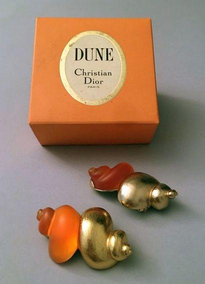 Christian DIOR, paire de clips d'oreilles,...