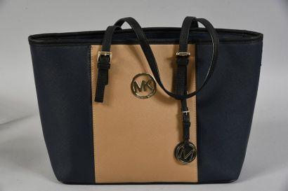 MICHAEL KORS, sac cabas, en toile enduite...
