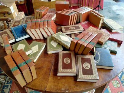 Un carton de livres reliés divers, Dominique,...