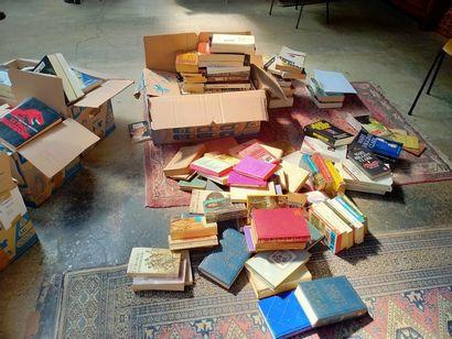Ensemble d'environs 200 romans : polar, classique,...