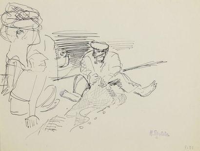 Henri EPSTEIN (1891/1892-1944)  Lot de deux...