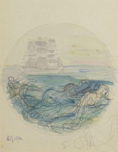 Henri EPSTEIN (1891/1892-1944)  SIRENES...