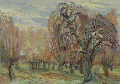 Henri EPSTEIN (1891/1892-1944)  LA QUEUE...