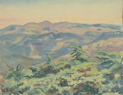 Lucien MAINSSIEUX (1885-1958)  PAYSAGE DE...