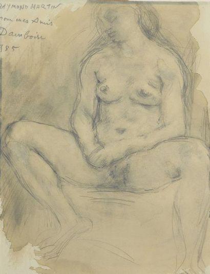 Raymond MARTIN (1910-1992)  NU FEMININ,...