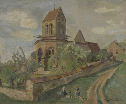 Pierre-Eugène CLAIRIN (1897-1980)  l'Église...
