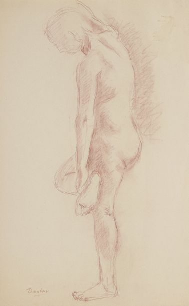 Marcel DAMBOISE (1903-1992)  Lot de deux...