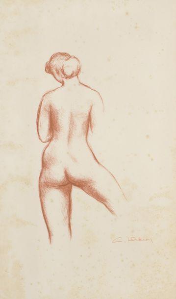 Louis DIDERON (1901-1980)  Nu féminin de...