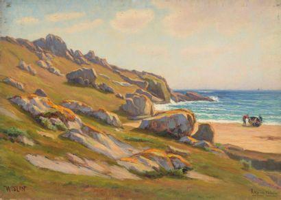 Charles WISLIN (1852-1932)  La mise à l'eau...