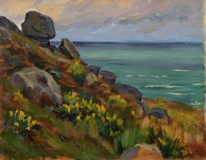 Charles WISLIN (1852-1932)  Fleurs des champs...