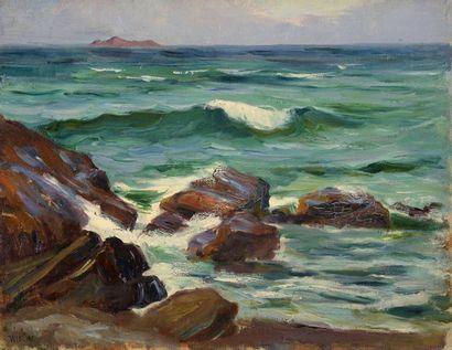 Charles WISLIN (1852-1932)  L'archipel des...