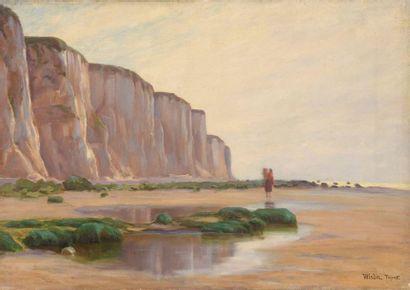 Charles WISLIN (1852-1932)  Pêcheuses au...