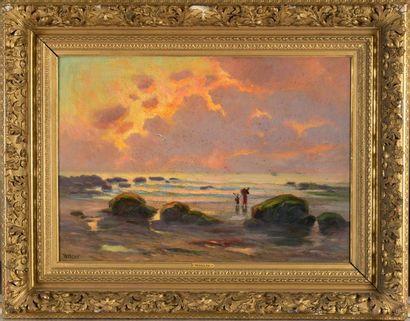 Charles WISLIN (1852-1932)  Pêcheuses du...