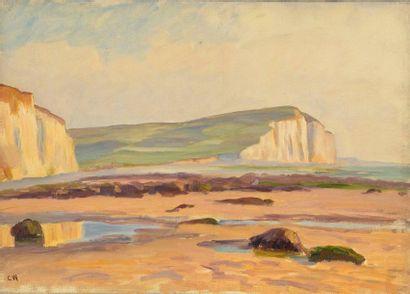 Charles WISLIN (1852-1932)  Criel-sur-Mer,...