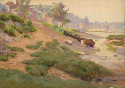 Charles WISLIN (1852-1932)  Le Tréport à...