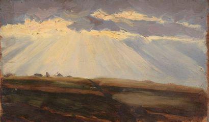 Charles WISLIN (1852-1932)  Rayon de soleil...