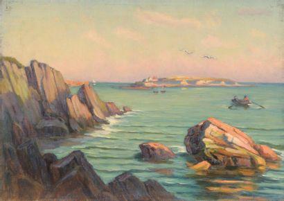 Charles WISLIN (1852-1932)  Barque à Raguenès...