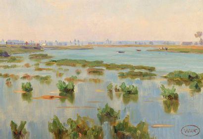 Charles WISLIN (1852-1932)  Les herbes à...