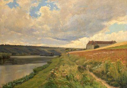 Charles WISLIN (1852-1932)  Balade sur les...