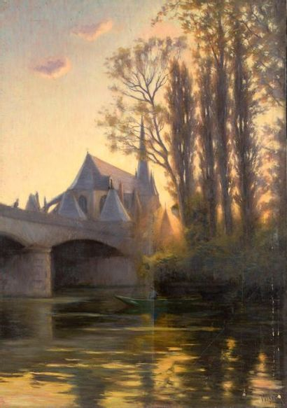 Charles WISLIN (1852-1932)  Dernier rayon...