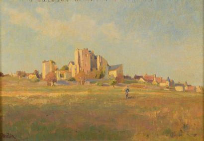 Charles WISLIN (1852-1932)  Les ruines du...