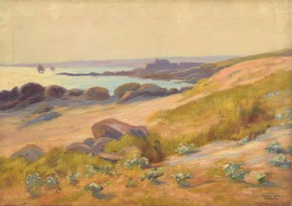Charles WISLIN (1852-1932)  Vieux fort du...