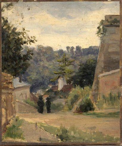 Charles WISLIN (1852-1932)  Promeneuses à...