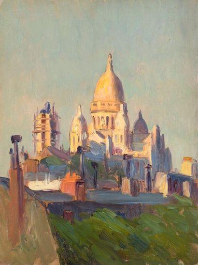 Charles WISLIN (1852-1932)  La construction...