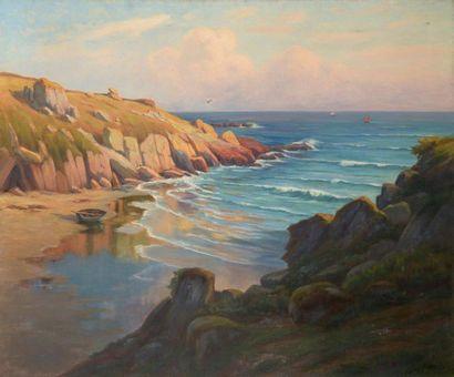 Charles WISLIN (1852-1932)  Baie de Rospico...