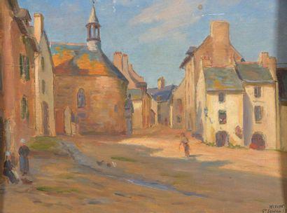 Charles WISLIN (1852-1932)  Place animée...