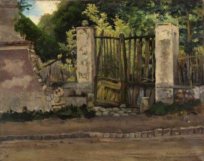 Charles WISLIN (1852-1932) Bellevue, route...