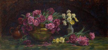 Charles WISLIN (1852-1932)  Nature morte...