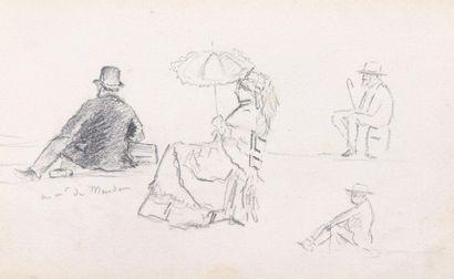 Charles WISLIN (1852-1932)  Ensemble de 44...