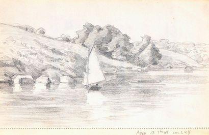 Charles WISLIN (1852-1932) Ensemble de 19...