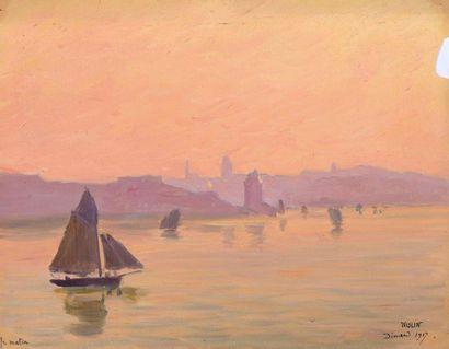 Charles WISLIN (1852-1932) Lot d'environ...